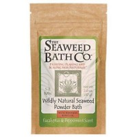 Wildly natural seaweed powder bath euc pepmnt - 2 oz ,6 pack
