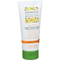 Andalou naturals argan oil and shea deep conditioner - 5.8 oz