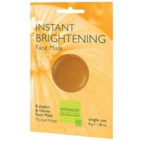 Instant brightening face mask andalou naturals - 0.28 oz  ,6 pack