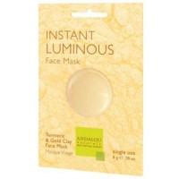 Instant luminous clay mask andalou naturals - 0.28 oz  ,6 pack