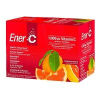 Ener-C - Gluten Free/Vegan Energy Drink Made with Real Fruit Juice Powder, Tangerine Grapefruit