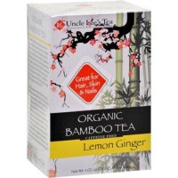 Uncle lees tea organic tea bamboo lemon ginger - 18 ea ,6 pack