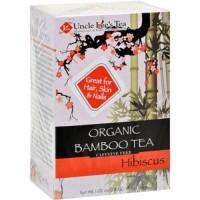 Uncle lees tea organic tea bamboo hibiscus - 18 ea ,6 pack