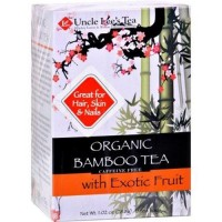Uncle lees tea organic tea bamboo exotic fruit - 18 ea ,6 pack