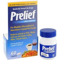 Prelief acid reducer dietary supplement tablets - 60 ea