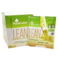 Lean vanilla bean by plant fusion - 12 Packets
