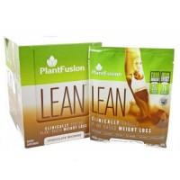 Lean chocolate brownie by plant fusion - 12 Packets