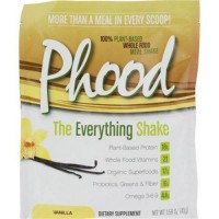 Plantfusion phood packets vanilla - 1.59 oz, Case of 12