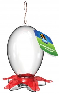 Classic Brands - Humming joy plastic hummingbird feeder - 28 ounce, 4 ea