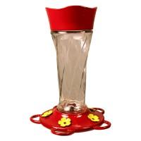 Classic Brands - Humming twist glass hummingbird feeder - 11 oz, 4 ea