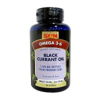 Health From The Sun Black Currant oil 1000 mg omega 3-6 soft gels - 30 ea