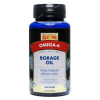 Health from the sun borage oil 300Mg softgels - 30 ea
