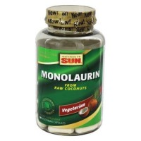 Health from the sun  monolaurin 1100 mg. Vegetarian capsules  -  90 ea