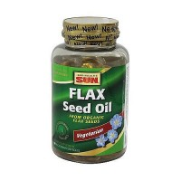Health From The Sun 100% vegetarian Flax Seed Oil liquid soft gels - 90 ea