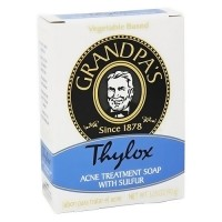 Grandpas thylox acne treatment bar soap with sulfur - 3.25 oz