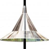 Arundale Products, Inc. mandarin squirrel-away pole-mounted baffle - 4 ea