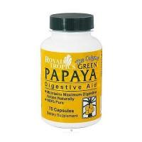 Royal Tropics Green Papaya digestive aid capsules - 75 ea