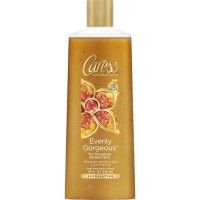 Caress evenly gorgeous exfoliating body wash, burnt brown sugar and Karite Butter - 18 oz