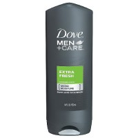 Dove mens + care body and face wash, extra fresh - 18 oz