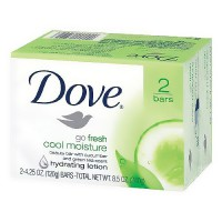 Dove Cool Moisture Bar Soap, Cucumber and Green Tea - 4.25 oz