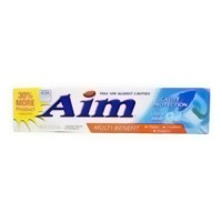 Aim cavity protection multi benefit ultra mint gel tooth paste - 6 oz