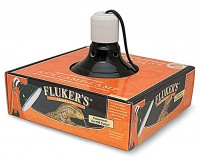 Flukers ceramic clamp lamp with switch - 8.5 inch, 20 ea