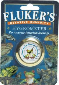 Flukers hygrometer round - 48 ea
