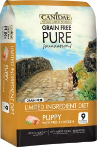 Canidae - Pure canidae pure foundations puppy formula dry food - 24 lb, 1 ea