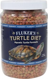 Flukers aquatic turtle diet - 15 oz, 36 ea