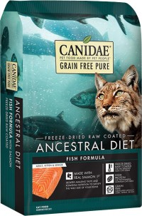 Canidae - Pure canidae pure ancestral raw coated cat dry food - 5 lb, 6 ea