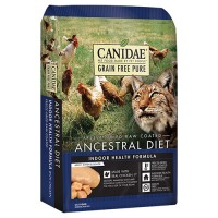 Canidae - Pure canidae pure ancestral raw coated cat dry food - 2.5 lb, 6 ea