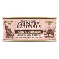 Grandma Mae S Country Nat country naturals grain free cat & kitten pate - 5.5 oz, 24 ea
