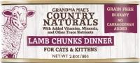 Grandma Mae S Country Nat country naturals grain free cat & kitten chunks - 2.8 oz, 24 ea