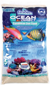 Caribsea Inc ocean direct original grade natural live sand - 20 pound, 2 ea