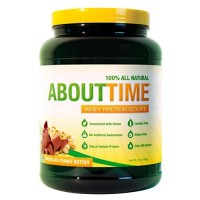 About Time   Whey Protein Isolate Chocolate Peanut Butter - 2 lb