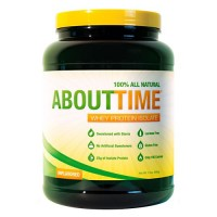 AboutTime Whey Protein Isolate Unflavored  - 2 lb
