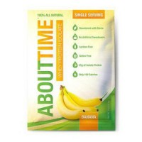 About time whey protein isolate single serving pack, banana - 12 pack