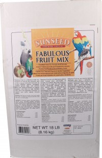 Sunseed Company fabulous fruit bucket - 18 pound, 1 ea