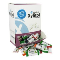 Miradent xylitol chewing gum, assorted flavors - 200 Pieces