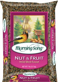 Global Harvest Foods, Ltd morning song nut and fruit wild bird food - 15 pound, 3 ea