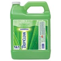 Tropiclean tc aloe and coconut deodorizing pet shampoo - 1 gal, 6 ea