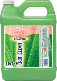 Tropiclean tc papaya and coconut 2-in-1 shampoo/conditioner - 1 gal, 6 ea