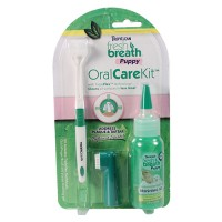 Tropiclean fresh breath oral care kit for puppies - 4 ounce, 12 ea
