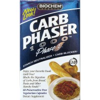 Carb phaser 1000 by biochem capsules - 60 ea