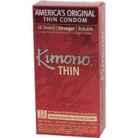 Kimono Thin Condoms - 12 ea