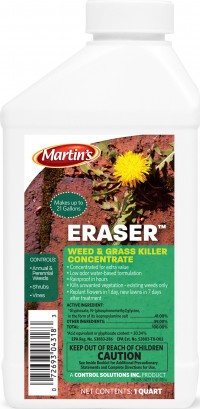 Control Solutions Inc eraser weed and grass killer concentrate - 1 quart, 6 ea