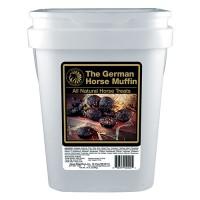 Equus Magnificus,Inc. D the german horse muffin all natural horse treats - 14 pound bucket, 4 ea