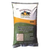 Redmond Minerals, Inc. natural trace mineral salt #10 fine for livestock - 50 pound, 1 ea