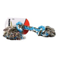 Mammoth Pet Products flossy chews color rope bone dog toy - 16 inch/xlarge, 60 ea