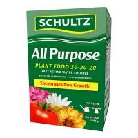 Schultz water soluble all purpose plant food 20-20-20 - 1.5 lb, 6 ea